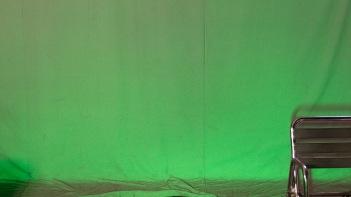 Illuminated green-very shiny